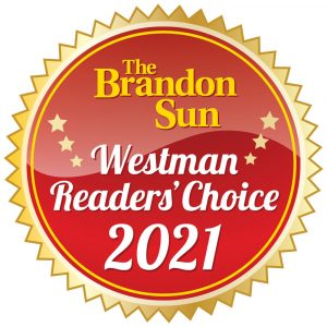 """Gold Winners of the Brandon Sun Readers Choice Awards 2021 """"Best Gym"""", and """"Best Trainer"""""""